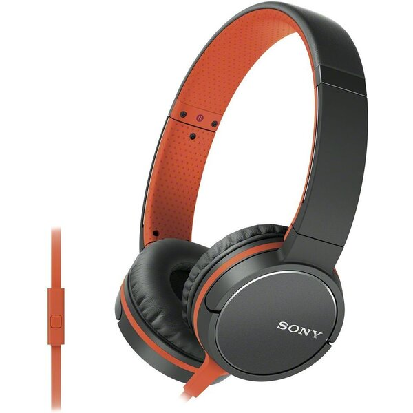Sony MDR-ZX660AP Oranžová