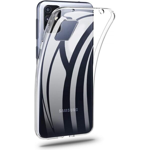 Smarty ultratenké TPU pouzdro 0,5mm Samsung Galaxy M51 čiré
