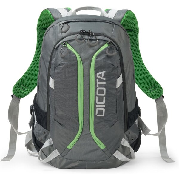DICOTA Backpack ACTIVE 14-15.6 šedá