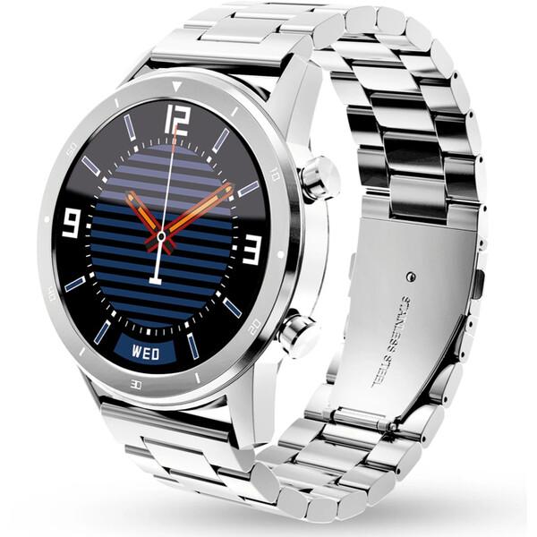 Aligator Watch PRO chytré hodinky stříbrné