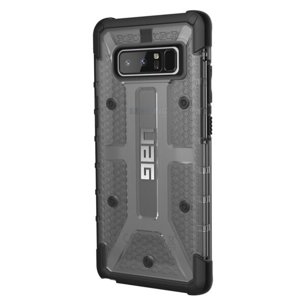 Pouzdro UAG plasma case Ash Galaxy Note 8 smoke Šedá