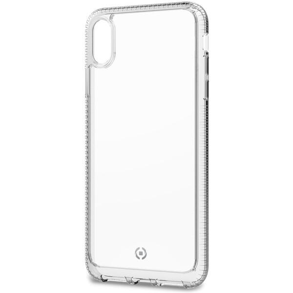 CELLY Hexalite odolné pouzdro Apple iPhone XS Max bílé