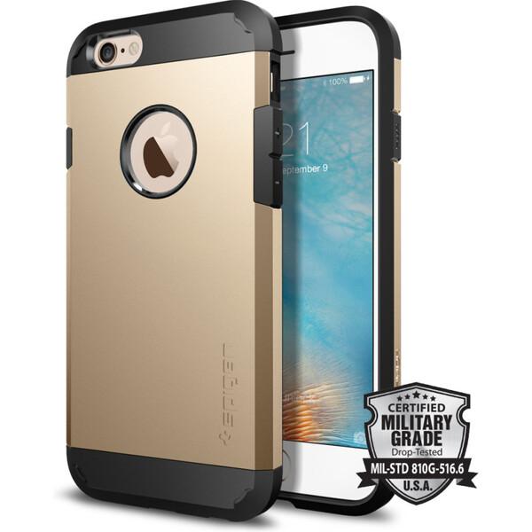 Spigen Tough Armor odolné pouzdro iPhone 6S/6 zlatý