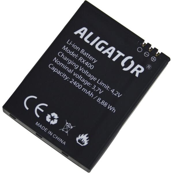 Baterie ALIGATOR ARX400BAL Černá