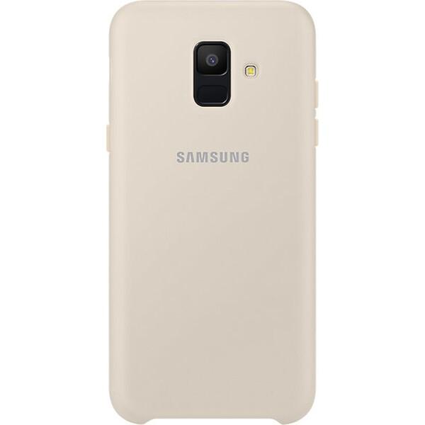 Samsung dvouvrstvý ochranný kryt Samsung Galaxy A6 EF-PA600CFEGWW Zlatá