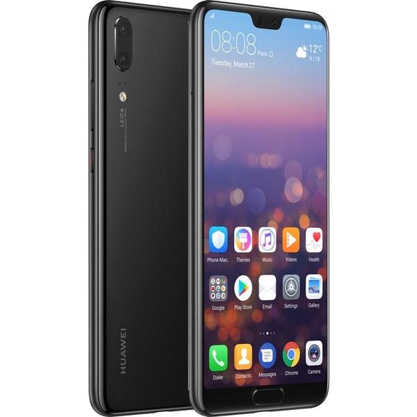 Huawei P20 Dual SIM Černá