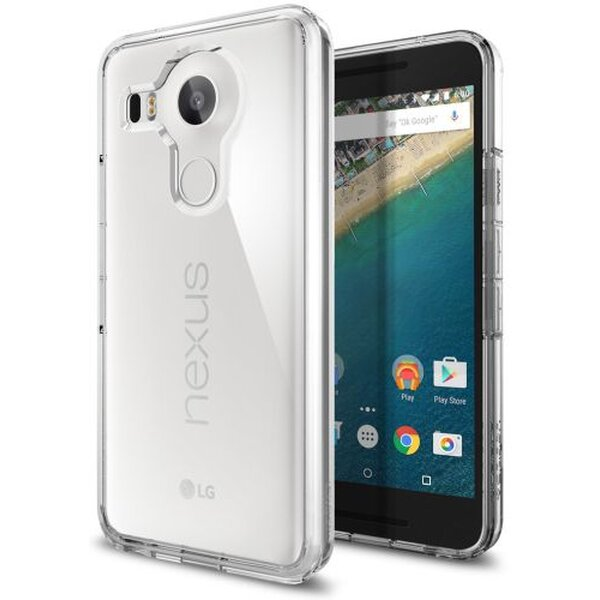 Pouzdro Spigen Ultra Hybrid Nexus 5X čiré Čirá