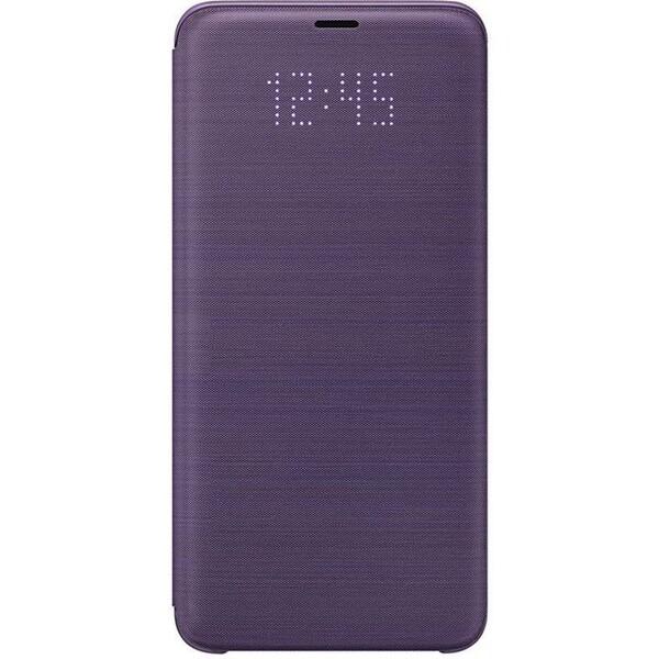 Samsung flipové pouzdro LED View Samsung Galaxy S9+ fialové EF-NG965PVEGWW Fialová