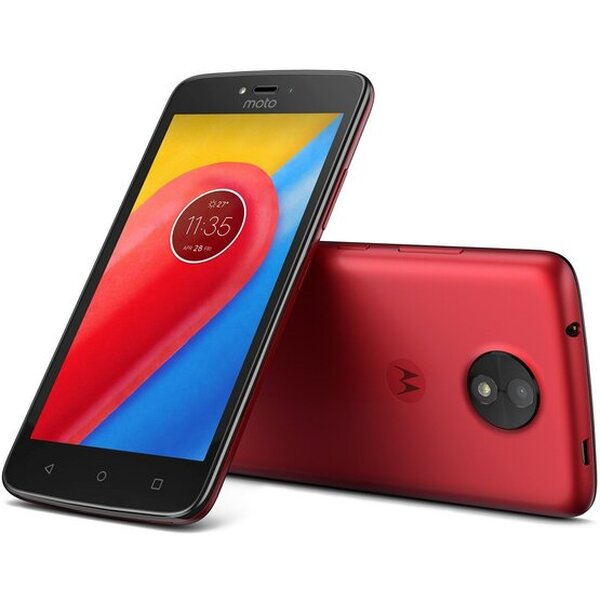 Motorola Moto C Dual SIM LTE červená