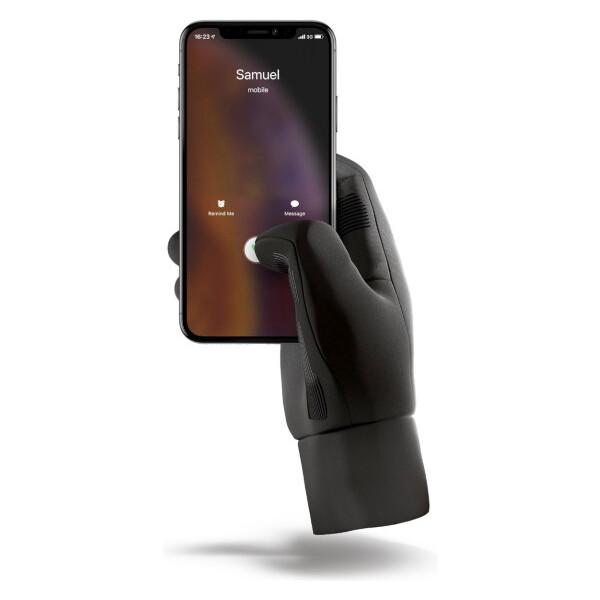 MUJJO Touchscreen dotykové rukavice pro SmartPhone (S) černé
