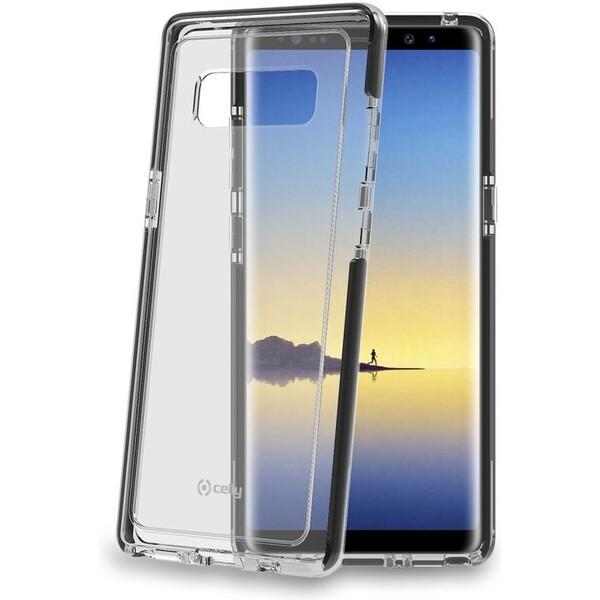 Pouzdro CELLY Hexagon Samsung Galaxy Note 8 černé Černá