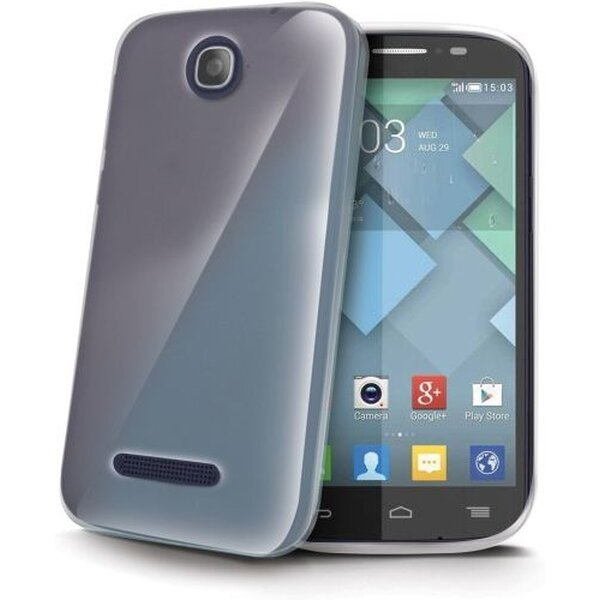 CELLY Gelskin pouzdro Alcatel One Touch Pop C7 čiré