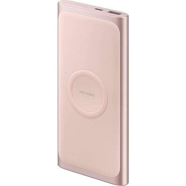 Samsung EB-U1200C powerbanka 10 000 mAh s USB-C a bezdrátovým nabíjením růžová