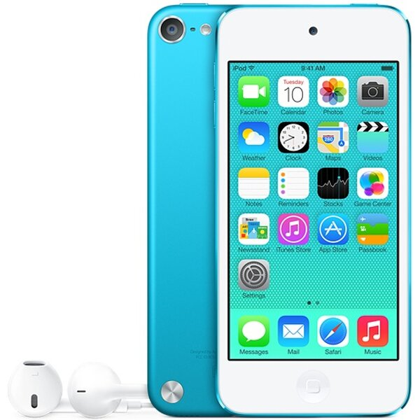 "Apple iPod Touch 32GB / 4"" Retina / 5MPx / MD717HC/A / Modrá"