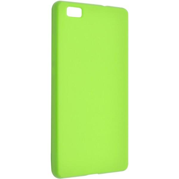 Pouzdro FIXED TPU gelové Huawei Ascend P7 - zelené Zelená