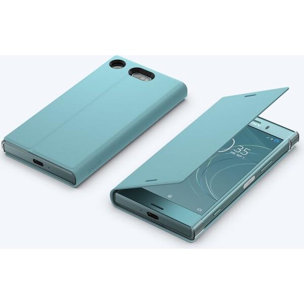 Sony Style SCSG60 flipové pouzdro Sony Xperia XZ1 Compact modré