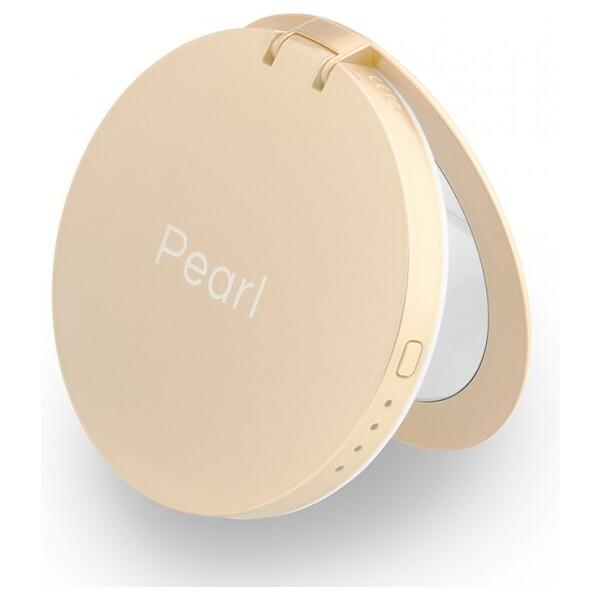 Hyper Pearl zrcátko se záložním zdrojem 3000 mAh zlatá