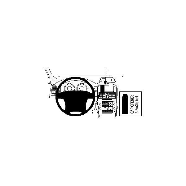 Brodit ProClip montážní konzole pro Volvo XC60 09-13