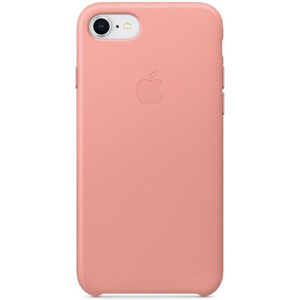 Pouzdro Apple iPhone 7/8 Leather Case bledě růžové Bledě růžová