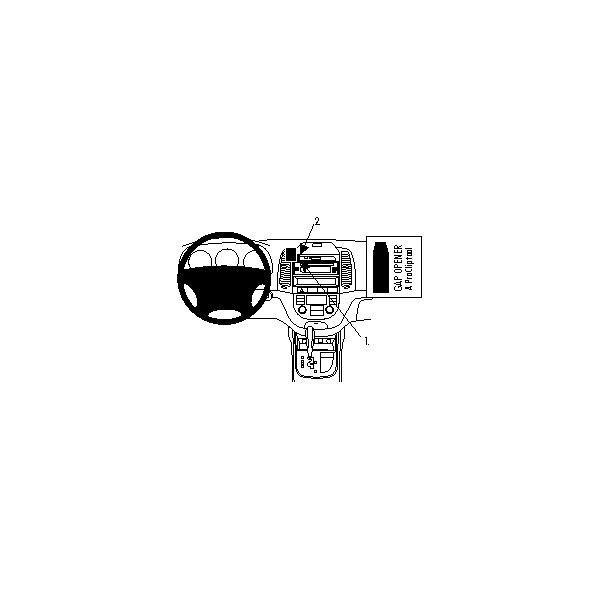 Brodit ProClip montážní konzole Hyundai Santa Fe 06-12
