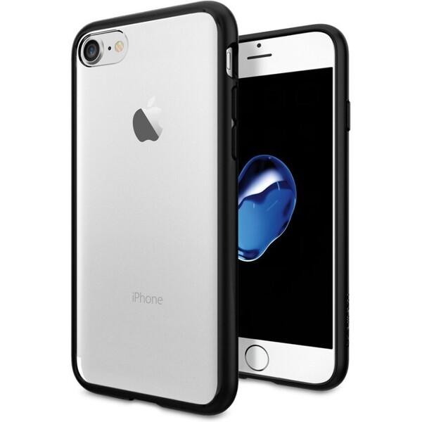 Pouzdro Spigen Ultra Hybrid iPhone 7 černé Černá
