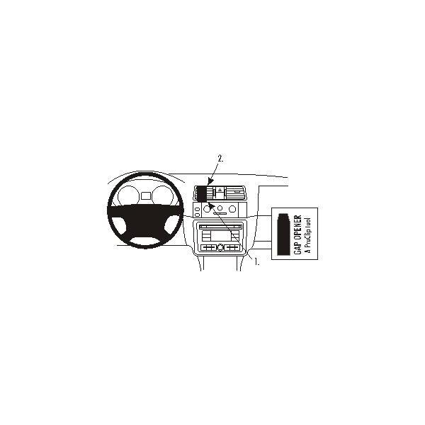 Brodit ProClip montážní konzole pro Škoda Roomster/Fabia 07-