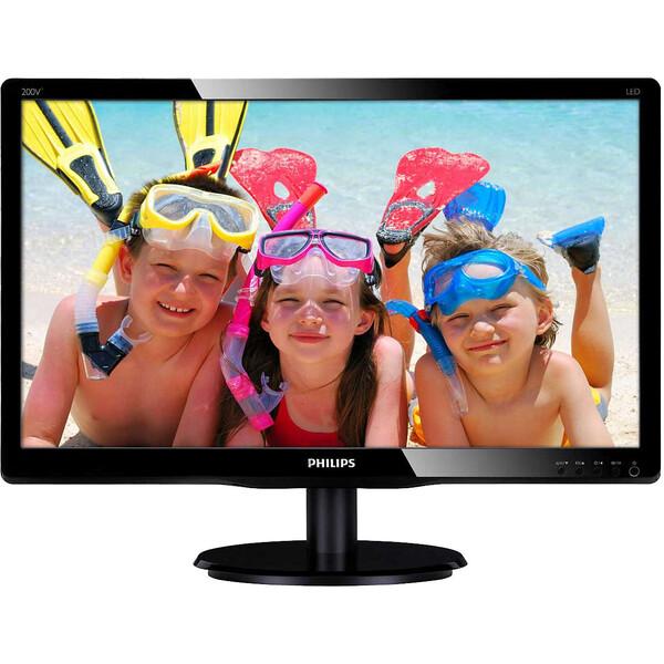 "Philips 200V4QSBR FHD monitor 20"""