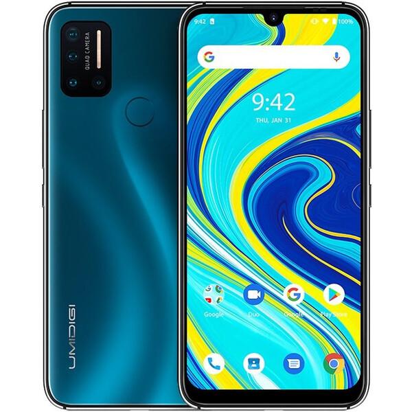 UMIDIGI A7 PRO 4GB+64GB Dual SIM oceánově modrý