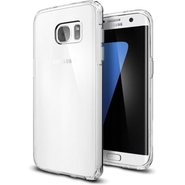 Pouzdro Spigen Ultra Hybrid Galaxy S7 edge crystal clear Čirá
