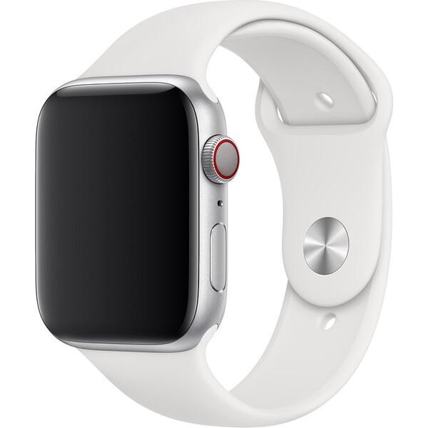 Apple Watch sportovní řemínek 44mm bílý