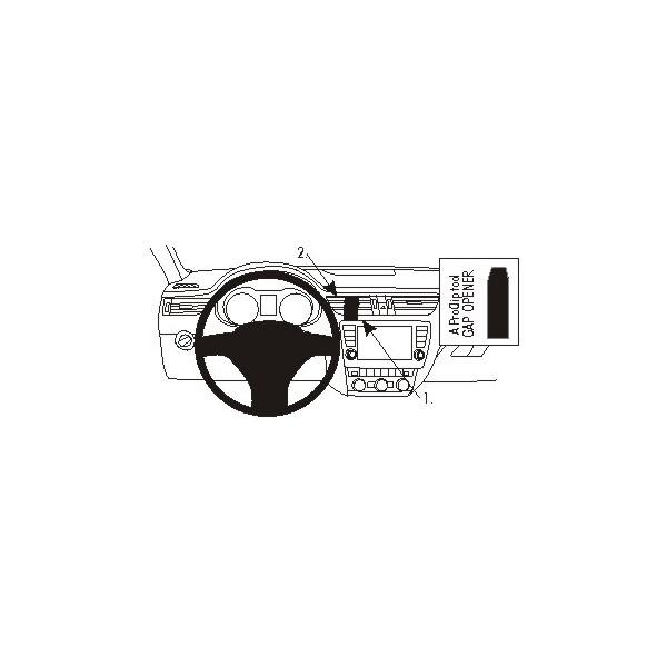 Brodit ProClip montážní konzole pro Škoda Rapid 13 - ne pro Swing autoradio