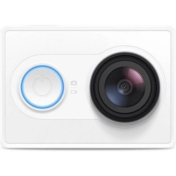 Xiaomi YI akční kamera bílá + Bluetooth ovladač