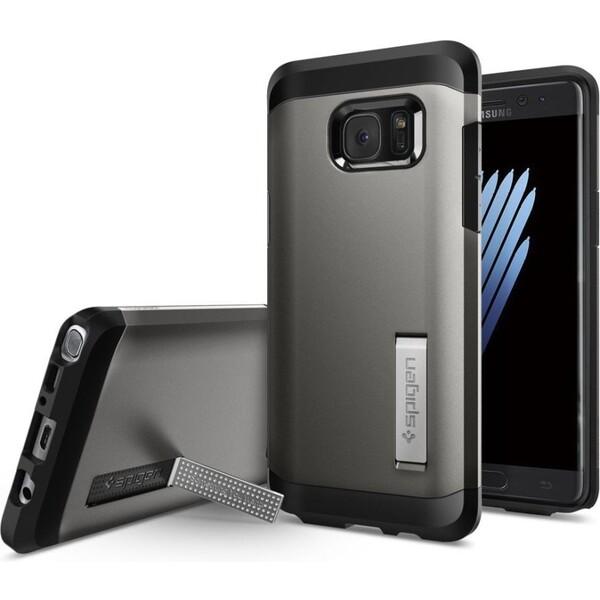Spigen Tough Armor odolný kryt Samsung Galaxy Note 7 šedý