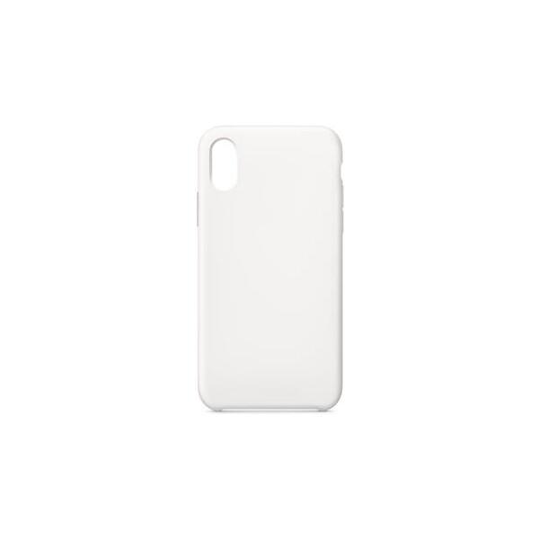 Swissten Liquid silikonové pouzdro Apple iPhone X bílé