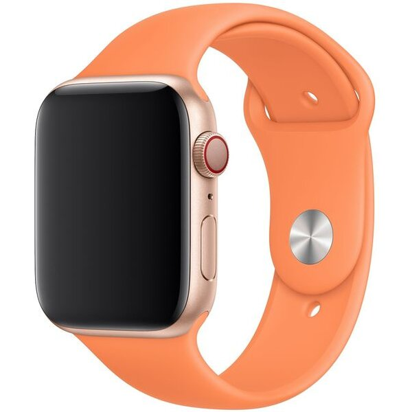 Apple Watch sportovní řemínek 44/42mm papájový