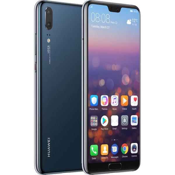 Huawei P20 Dual SIM Půlnočně modrá