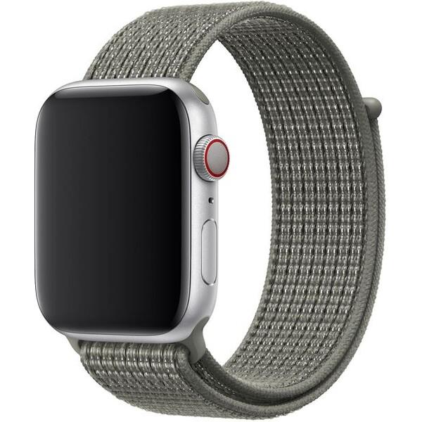 Apple Watch provlékací sportovní řemínek Nike 44/42mm smrkově šedý