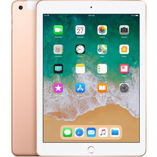 Apple iPad 128GB Wi-Fi + Cellular zlatý (2018)