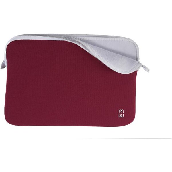 "MW Perfect-fit sleeve pouzdro MacBook Air 13"" vínové/bílé"