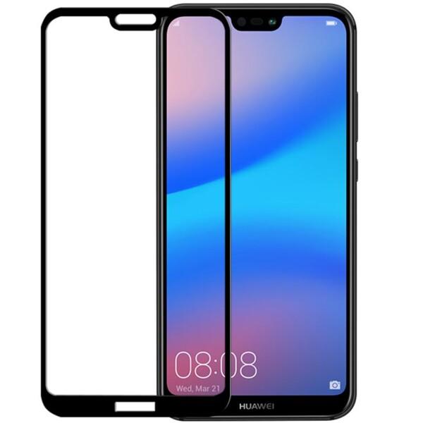 Odzu Glass Screen Protector Huawei P20 Lite GLS-E2E-HP20L Černá
