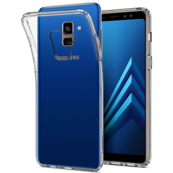 Spigen Liquid Crystal kryt Samsung Galaxy A8 (2018) čirý
