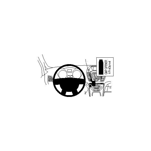 Brodit ProClip montážní konzole pro Ford C-Max 11-/ Grand C-Max 11-