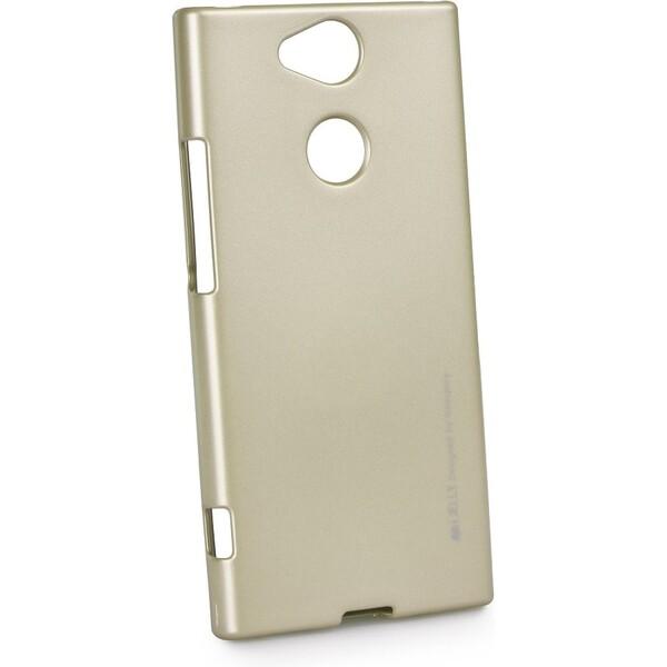 Pouzdro Mercury i-Jelly Sony Xperia XA2 Ultra Zlatá