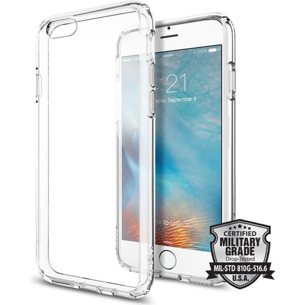 Spigen Ultra Hybrid zadní kryt Apple iPhone 6S/6 čirý