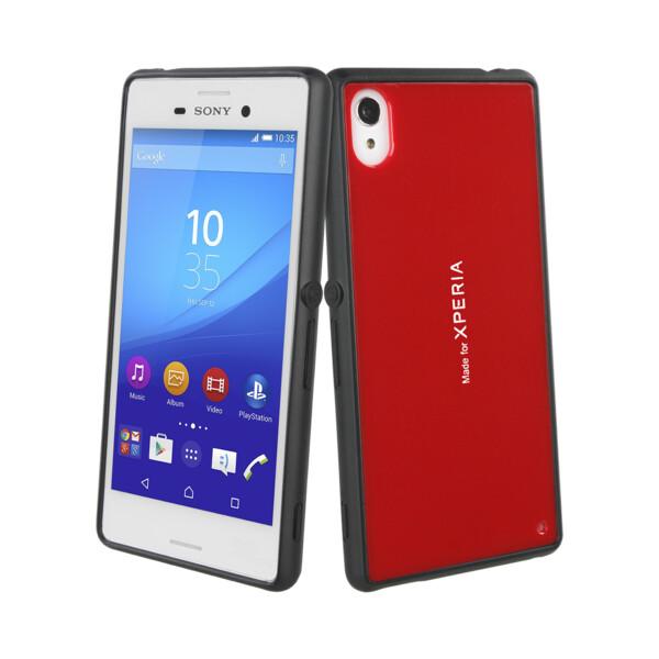 Roxfit gelové pouzdro Sony Xperia M4 Aqua červené