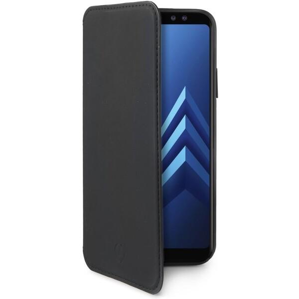 Pouzdro CELLY Prestige Samsung Galaxy A8 2018 černé Černá