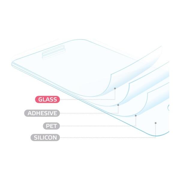 CELLY Glass ochranné tvrzené sklo se speciální antiblueray vrstvou pro mobilní telefon LG X Scr