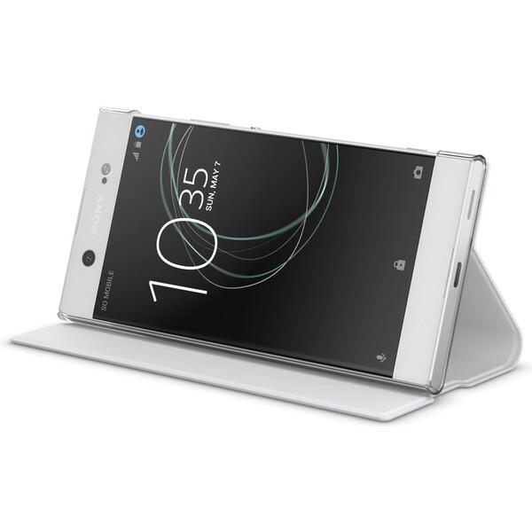 Sony SCSG40 Style Cover Flip Sony Xperia XA1 Ultra bílé