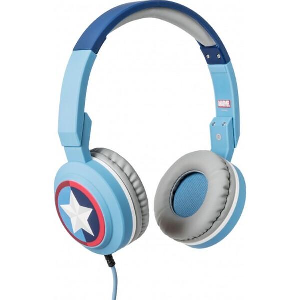 Tribe Marvel Captain America Pop sluchátka modrá