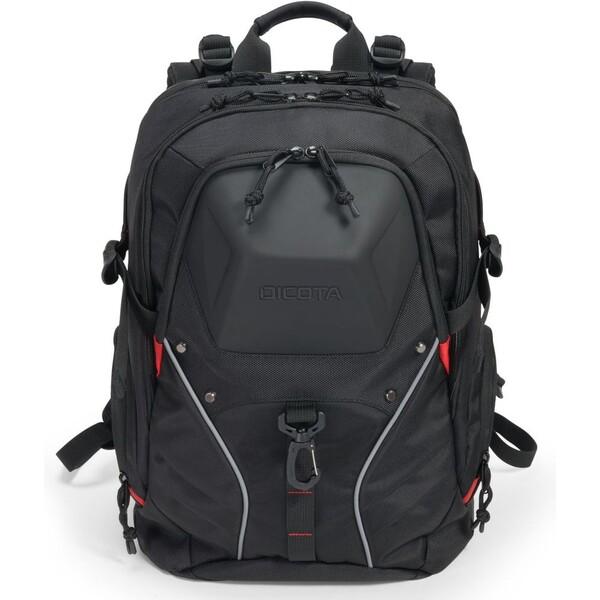 DICOTA Backpack E-Sports 15-17.3 černá